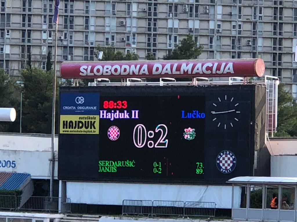 Pobjeda Lučkog na Poljudu !!