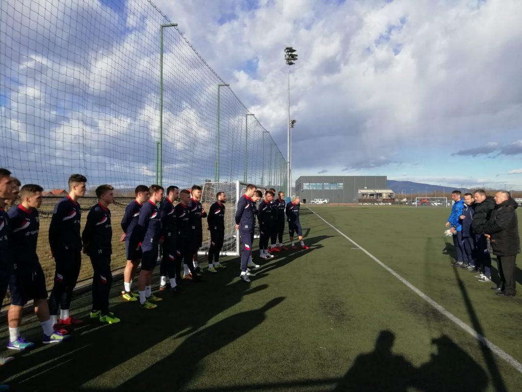 Igrači se okupili na startu zimskih priprema